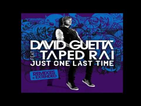 Just One Last Time - David Guetta FT. Taped Rai | LYRICS