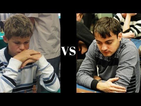 Magnus Carlsen's Slav Defence opposite side castling hack attack at the age of 12 years old!