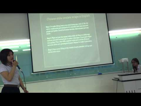 Presentation of Healthy Food Guide