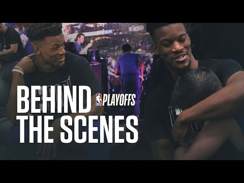 Behind the scenes of NBA Playoffs w/ Jimmy Butler | Brooklyn vs Philly