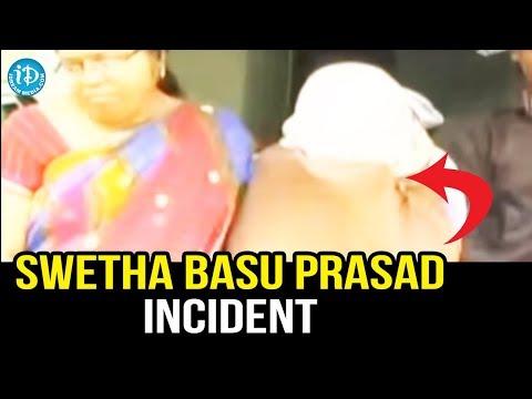 Heroine Swetha Basu Prasad caught in c