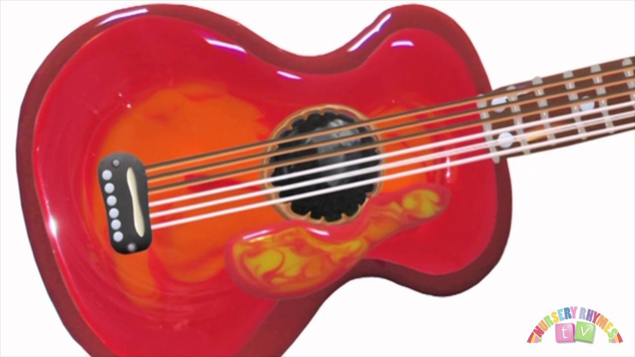 GUITAR | Preschool Learning Videos. Music for Kids