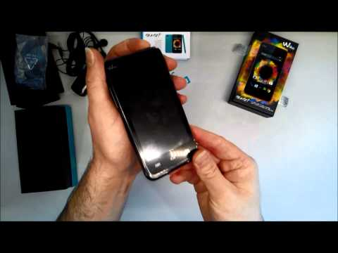 Unboxing Wiko Sunset