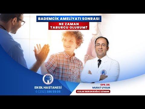 Bademcik Ameliyatı Sonrası Ne Zaman Taburcu Olurum? - Opr. Dr. Murat Uygur - İzmir Ekol Hastanesi