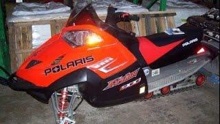 9. 2005 POLARIS 900 FUSION 400 MILES ON REBUILT ENGINE