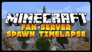 Minecraft: EPIC SERVER TIMELAPSE BUILD! (Fan Server Hub Build)