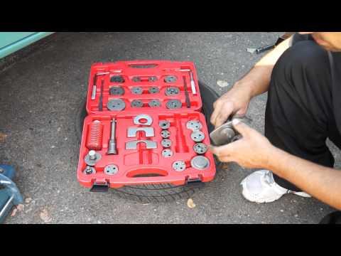 Brake rewind tool set, 35pcs MG50064