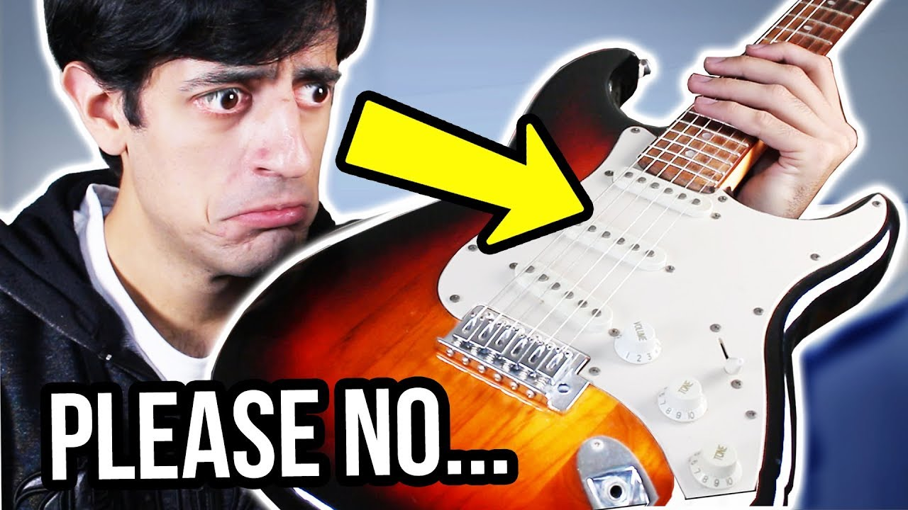 I play a GUITAR… (ILLEGAL VIDEO)