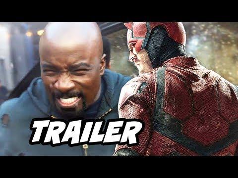 Luke Cage Season 2 Trailer and Marvel Daredevil Season 3 Trailer Theory
