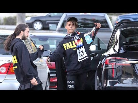 Jaden Smith Hams It Up For The Cameras