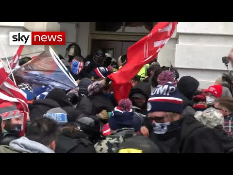 New footage emerges of the US Capitol riot