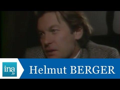 Helmut Berger répond à Helmut Berger - Archive INA