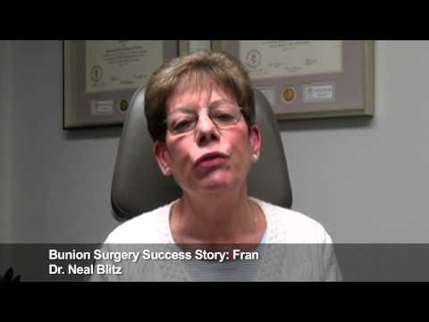 Fran: Bunion Surgery