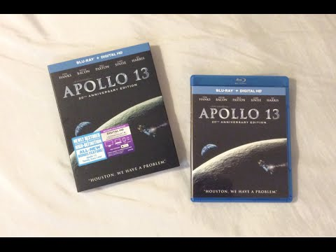 Apollo 13: 20th Anniversary Edition (1995) Blu Ray Review and Unboxing