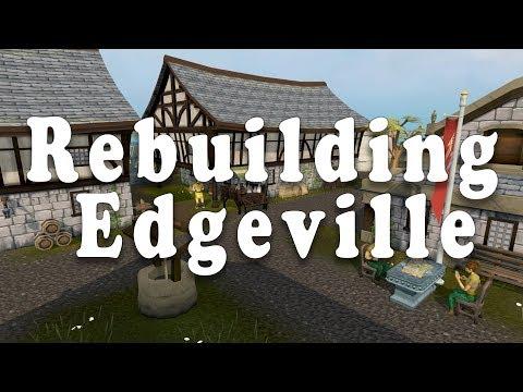 Rebuilding Edgeville - Runescape 3 (видео)
