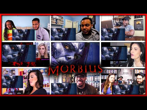 Morbius Teaser Trailer Reaction Mashup