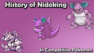 Video KING or PEON?! - History of Nidoking in Competitive Pokemon (Gens 1-6) ft. Vish MP3, 3GP, MP4, WEBM, AVI, FLV Agustus 2017