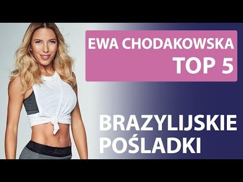 """Top 5 – Ewa Chodakowska – """"Bazillian Butt"""" Exercises"""