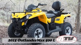 7. ATV Television - 2015 Can Am OutlanderMax 500L DPS Test