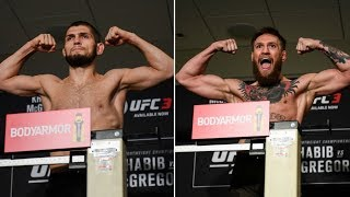 UFC 229 ceremonial weigh-ins ahead of Khabib vs. McGregor title fight