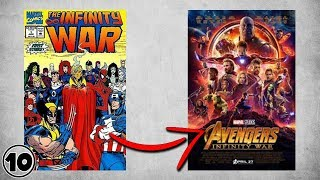Nonton Top 10 Differences Between Avengers Infinity War Comic Book   Movie Film Subtitle Indonesia Streaming Movie Download
