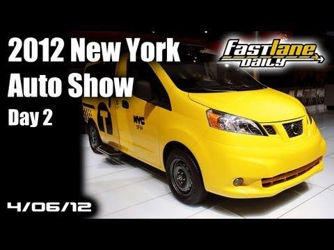 2012 New York International Auto Show - Day 2