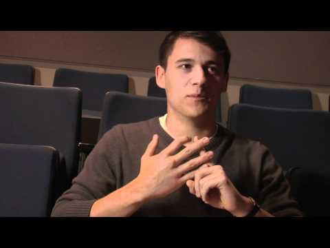 Meet The Student: Dan Obzejta  '12 am Wesleyan Film