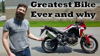 5. Sean tries to Slay the Honda Africa Twin?