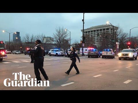 Chicago hospital shooting: witness describes 'gun battle'