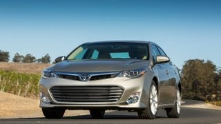2013 Toyota Avalon V6 0-60 MPH First Drive Review