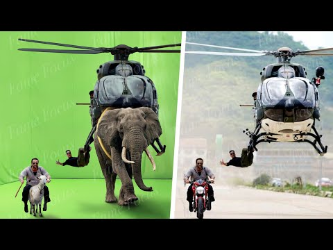 Bollywood Vs Hollywood VFX - Before & After CGI Breakdown