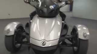 4. #182 - DET - 2008 Can-Am Spyder RS