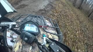 9. Cf Moto 500 ATV Trail Riding!