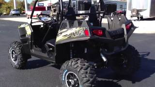 4. 2013 Polaris Ranger RZR XP 900 LE EPS in Stealth Black and Green at Tommy's MotorSports