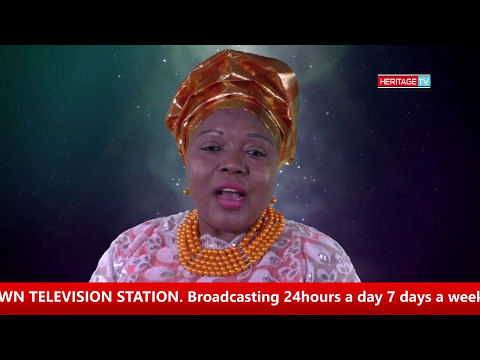 Bunmi West Talking About Her Show On Heritage Television