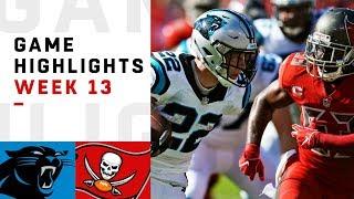 Panthers vs. Buccaneers Week 13 Highlights | NFL 2018