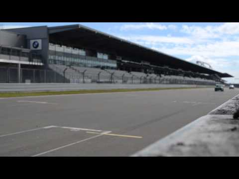 Track Side at Nurburgring - FHR HTGT Class - Towards grandstands