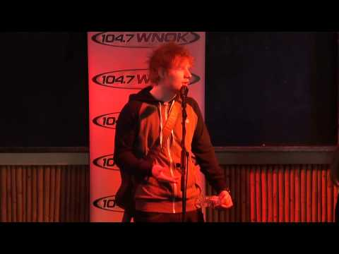 Ed Sheeran answers what he sings in the shower & more