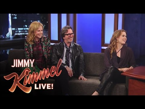 Amy Adams - Jimmy Kimmel Live - Matt Damon Interviews Gary Oldman, Amy Adams and Nicole Kidman Jimmy Kimmel Live's YouTube channel features clips and recaps of every epi...