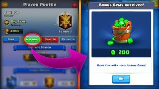 """Clash Royale gameplay from Eclihpse! WTF! Giving My Opponent FREE Gems in Clash Royale! HOW MUCH GEMS SHALL I LOSE!?★Join My Giveaway: https://gleam.io/Hpllp/eclihpses-1-million-subscriber-gfuel-giveaway★Limited Edition One Mil Shirt: https://shop.bbtv.com/collections/Eclihpse❤Clash With Ash's Video: https://www.youtube.com/user/ClashWithAsh1★Free Gems! Use Code """"ECL"""" (download for more gift card giveaways): http://www.mistplay.co/ECL★GFuel Discount Code """"ECL"""": http://gfuel.com/collections/g-fuel ★Official Eclihpse Merchandise: https://shop.bbtv.com/collections/Eclihpse❤Follow My Social Medias!➥Twitter: https://twitter.com/ItsEclihpse➥Instagram: https://www.instagram.com/ItsEclihpse✉P.O. Box2314 Route 59PO Box #382Plainfield, IL 60586✔Subscribe to my main channel: https://www.youtube.com/user/Eclihpse✔Subscribe to my second channel: https://www.youtube.com/channel/UCGovNx20A-oe9x--9ywrPYwIf you enjoyed the video, please drop a like (it only takes 1.7 seconds)!♫ Intro Song: Jetta - I'd Love to Change the World (Matstubs Remix)➥https://www.youtube.com/watch?v=jBTkaf0lP58"""