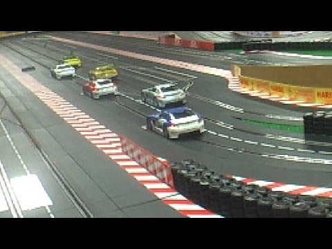 Carrera Autorennbahn   13.  Lauf des SLS Cups