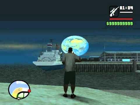 GTA San Andreas: Mod para cambiar la Luna por el Planeta Tierra