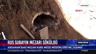 Rus subayın mezarı söküldü