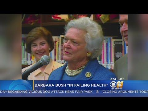 Granddaughter: Barbara Bush Is 'A Fighter,' In Good Spirits