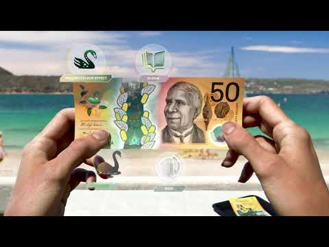 Next generation of Australian banknotes: New $50 (60 second video)