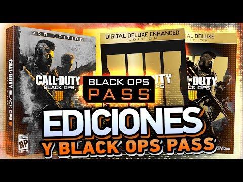 EDICIONES ESPECIALES de BO4, Precios y... BLACK OPS PASS (видео)