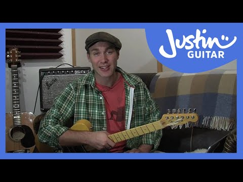 Introducing Justin's Intermediate Guitar Method (Guitar Lesson IM-100) How to play