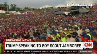 Trump sounds off on Obamacare during Boy Scouts speech