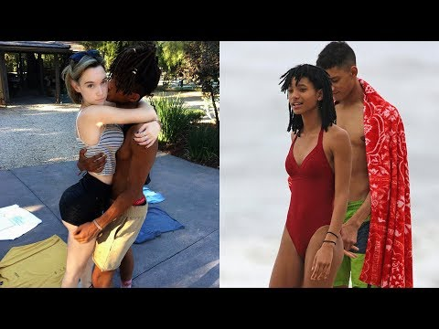 Jaden Smith's Girlfriend & Willow Smith's Boyfriend ★ 2018