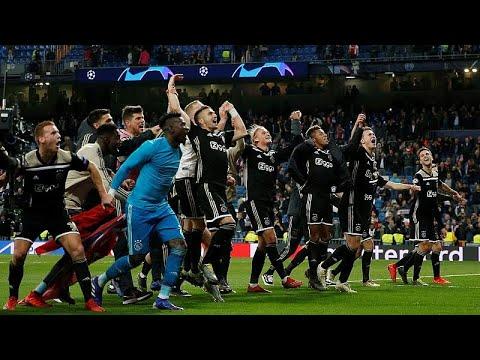 Fußball: Real Madrid verliert 1 : 4 gegen Ajax Amster ...